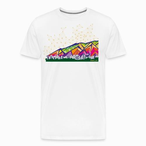 Ávila de Colores - Camiseta premium hombre