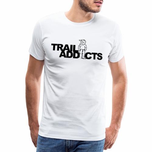 Trail addicts ZWART - Camiseta premium hombre