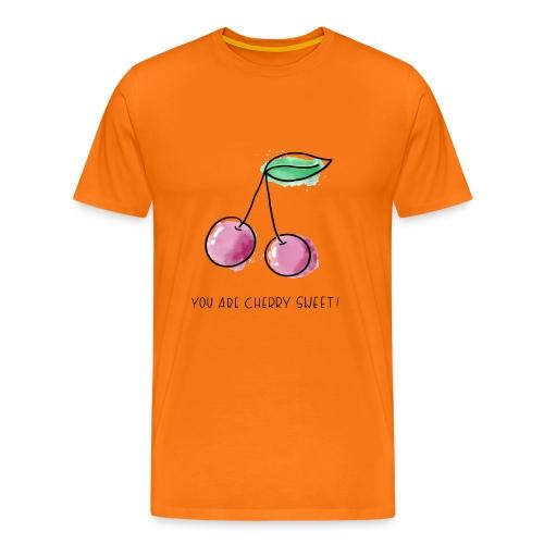 Fruit Puns n°1 Cherry Sweet - Männer Premium T-Shirt