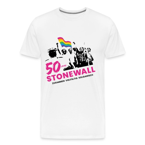 CSD 2019 Logo o. BG - Männer Premium T-Shirt