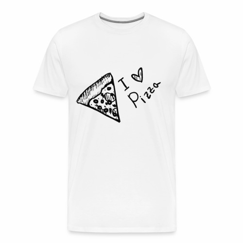 I LOVE PIZZA - Männer Premium T-Shirt