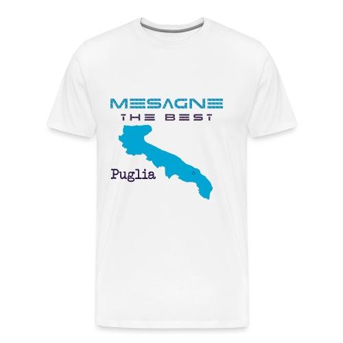 MESAGNE - Maglietta Premium da uomo