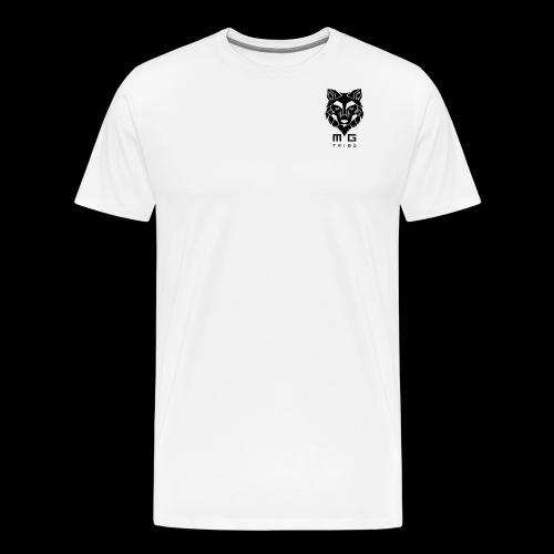 LOGO MG TRIBU T-MADE, CASTE DNA, RESET - Maglietta Premium da uomo