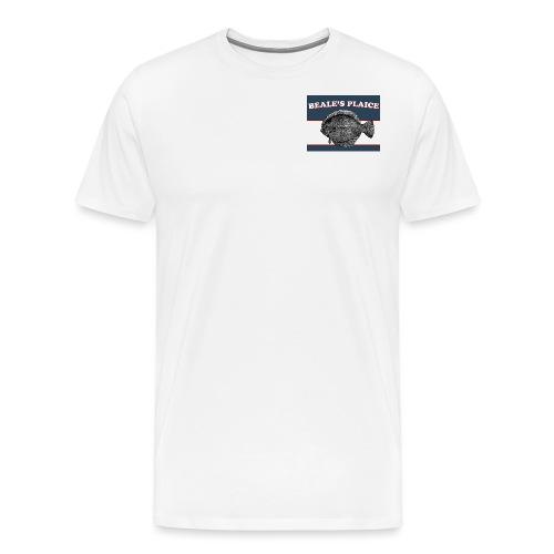 Beale's Plaice logo - Men's Premium T-Shirt