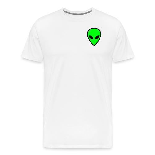 alien face 5 - Maglietta Premium da uomo