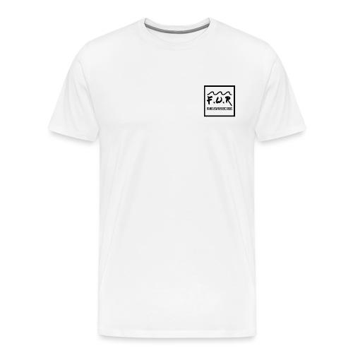 FAMOUS RECORDS WAVE - T-shirt Premium Homme