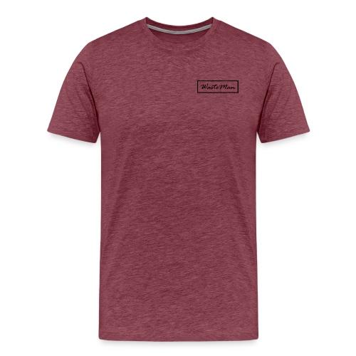 WasteMan - Miesten premium t-paita