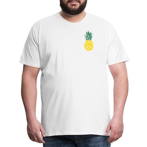 Pineapple - Mannen Premium T-shirt