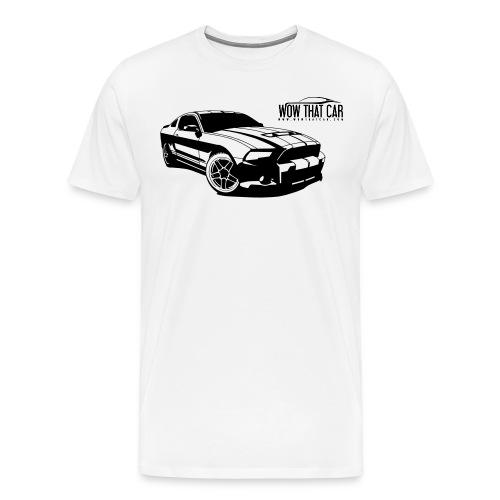 Wow that car t shirt png - Mannen Premium T-shirt