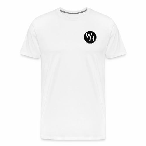 wh png - Men's Premium T-Shirt