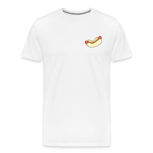 Hotdog - Herre premium T-shirt