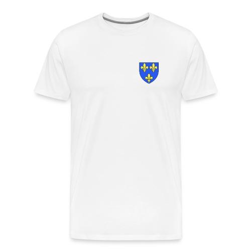 Blason royal 3 fleurs de Lys - T-shirt Premium Homme