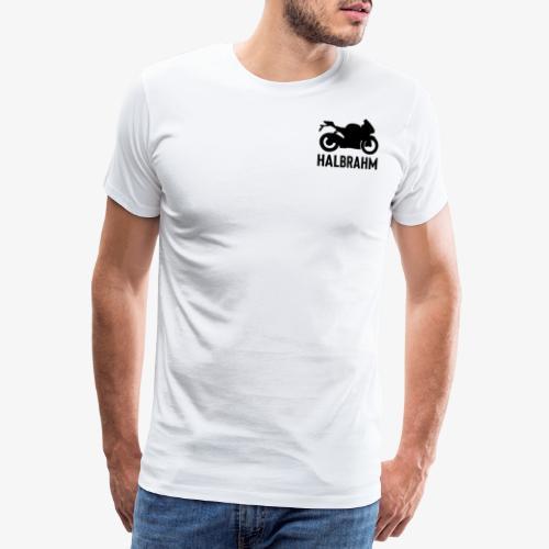 HalbRahm Logo - Männer Premium T-Shirt