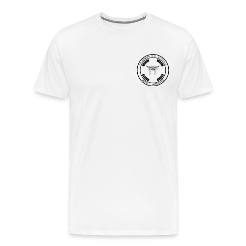 PSC Budo Emblem schwarz png - Männer Premium T-Shirt
