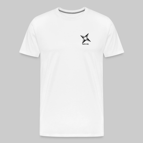 The Ninja Star - Men's Premium T-Shirt