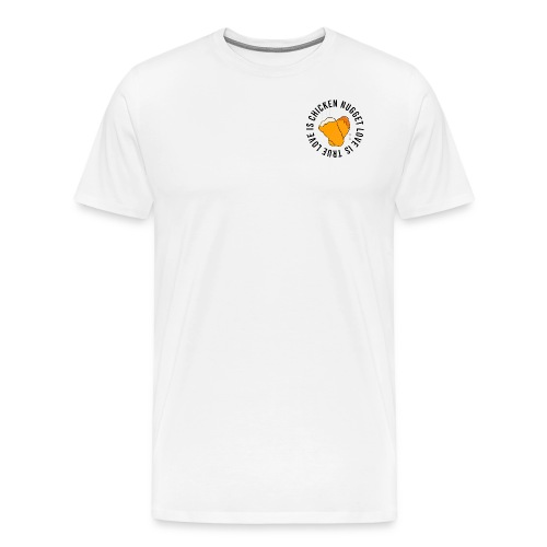 Chicken Nugget Love - Männer Premium T-Shirt