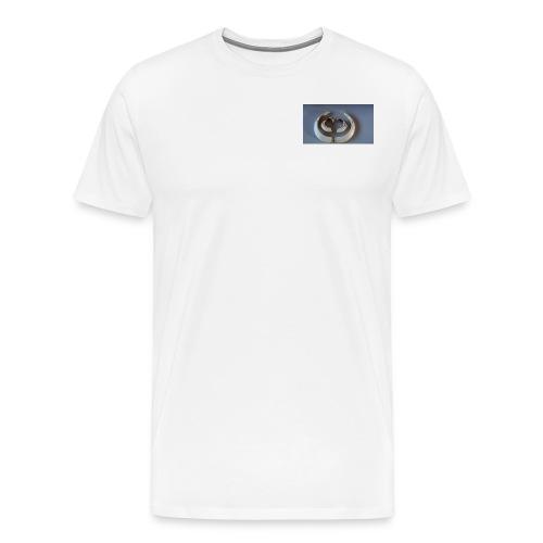 Keiler Waffen, Hauer vom Wildschwein,. - Männer Premium T-Shirt