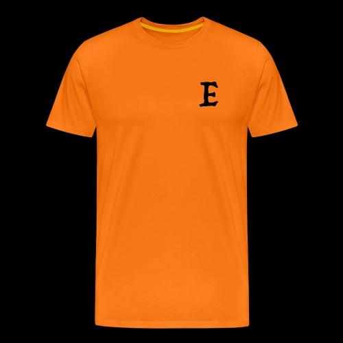 E black - T-shirt Premium Homme