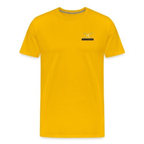 golden tcm black - Men's Premium T-Shirt