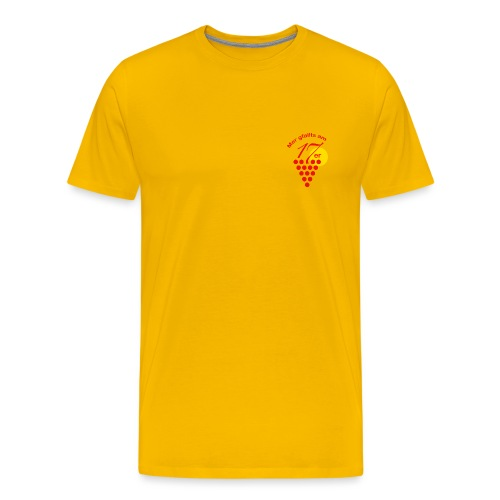 Logo pur2 png - Männer Premium T-Shirt