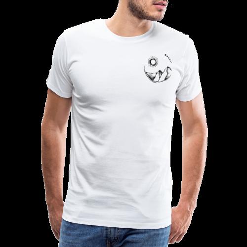 eco - Herre premium T-shirt