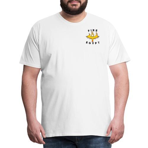 FIRE EGYPTIAN LIFE CROSS - T-shirt Premium Homme
