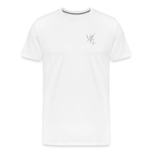 Kär - Premium-T-shirt herr