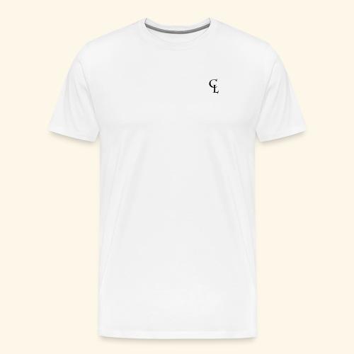 CrownLion Iniciales - Camiseta premium hombre