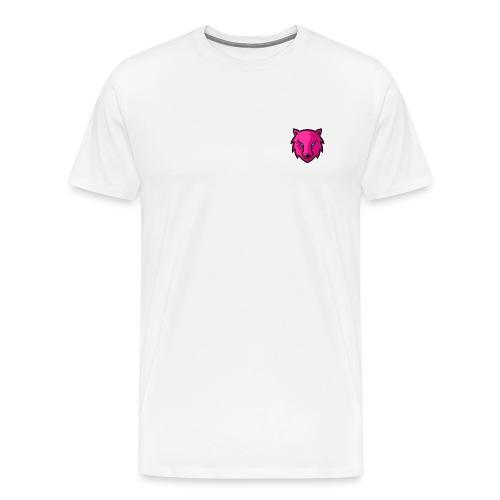 LoneWolf rosa - Camiseta premium hombre