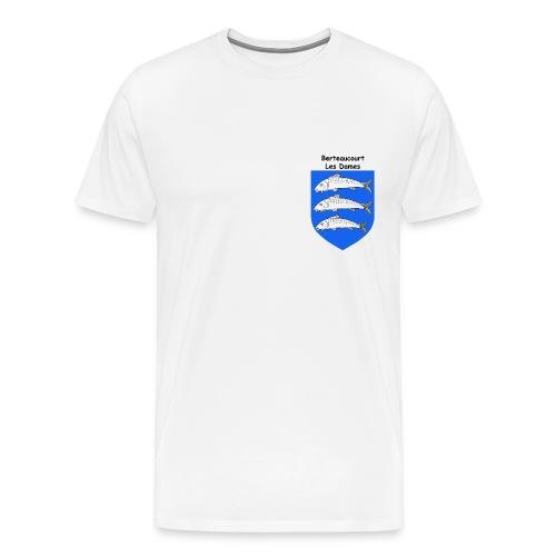 Berteaucourt les Dames 3 gif - T-shirt Premium Homme