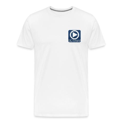Logo CETA Radio - T-shirt Premium Homme