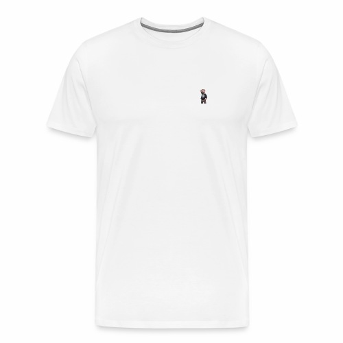 LITEN ALGOT LOGO - Premium-T-shirt herr
