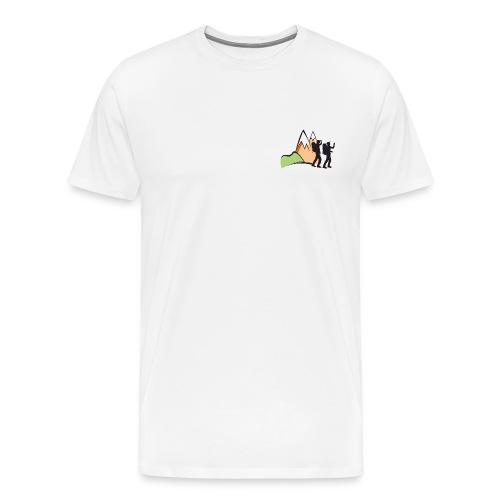 hikaholics full color - Mannen Premium T-shirt