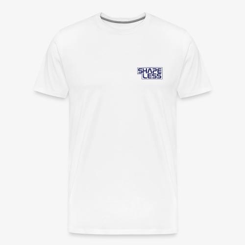SHAPELESS LOGO blue - Maglietta Premium da uomo