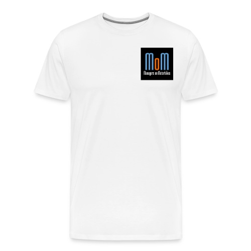 Managers on Motorbikes Logo - Männer Premium T-Shirt