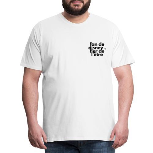 Fan de - T-shirt Premium Homme