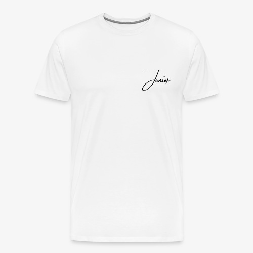 JUNIOR CLASSIC BLACK - Männer Premium T-Shirt