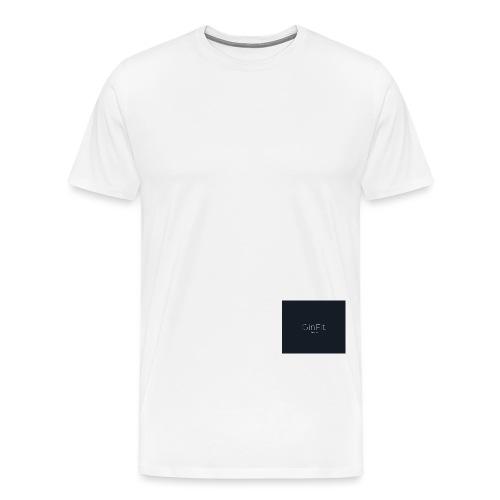GinFitNavy - Men's Premium T-Shirt