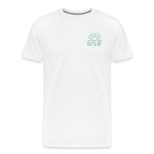 LIGNE DE SIGNALISATION X EXTÉRIEURE - Matías Mateo - T-shirt Premium Homme