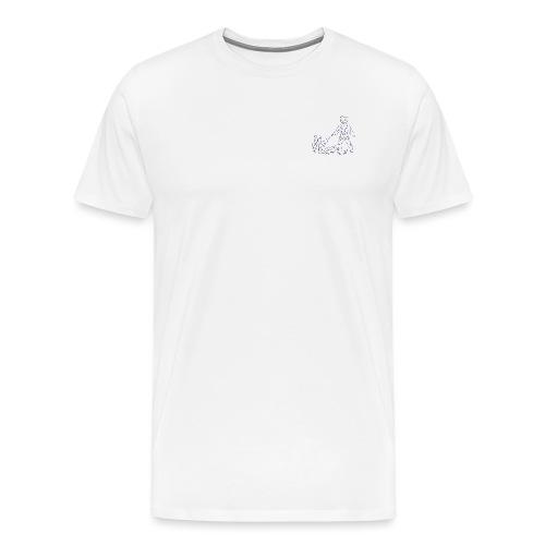 Judo for fred - Premium T-skjorte for menn
