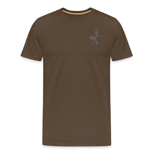 Mier wijzen - Mannen Premium T-shirt