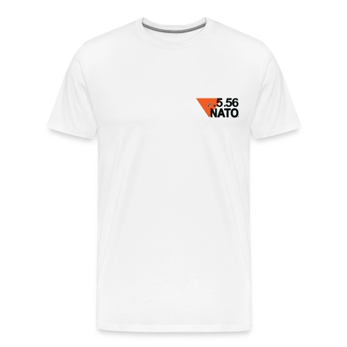5 56 NATO NOIR png - T-shirt Premium Homme