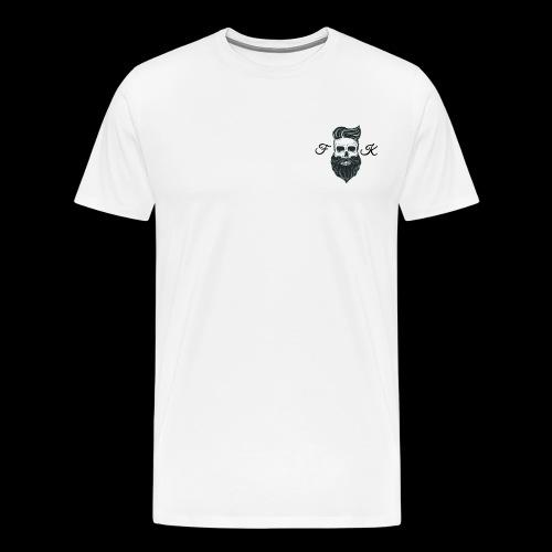FutureKing - Black night. - Men's Premium T-Shirt