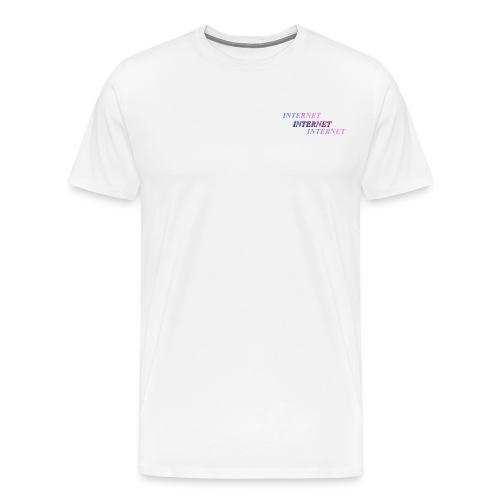 17 - Herre premium T-shirt