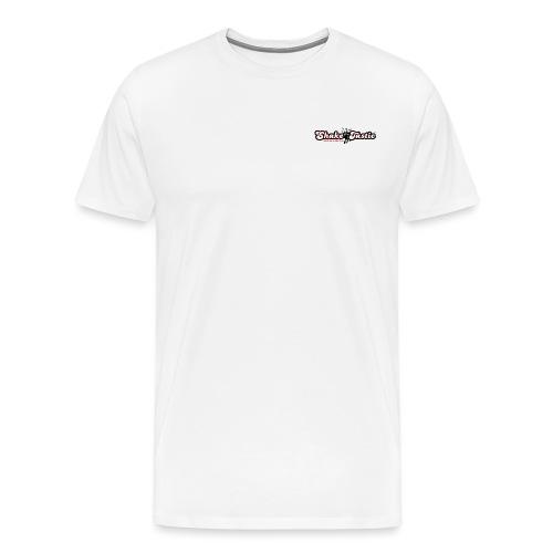 shaketastic logo who red - Men's Premium T-Shirt