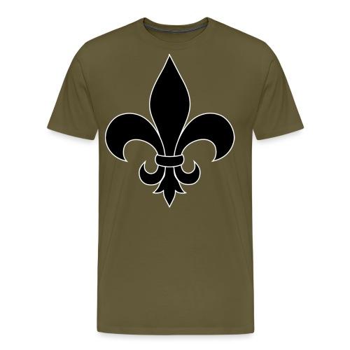 ranskan lilja - Miesten premium t-paita