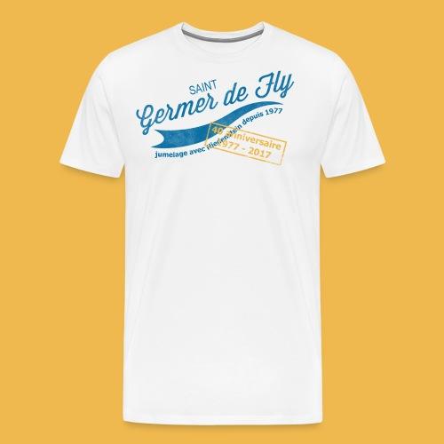 40 Jahre Städtepartnerschaft - Männer Premium T-Shirt
