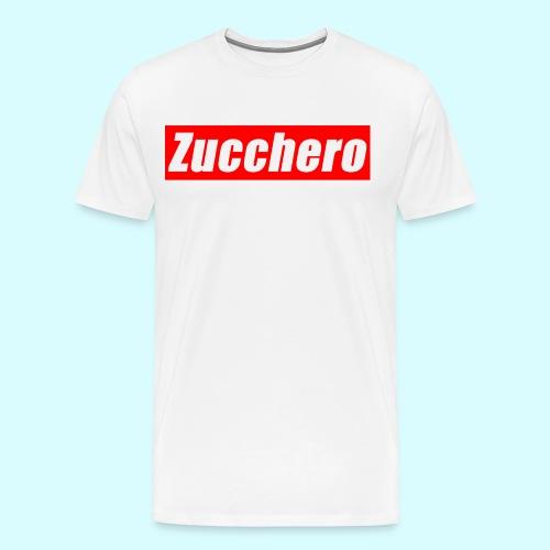 Zucchero Box Red - Men's Premium T-Shirt