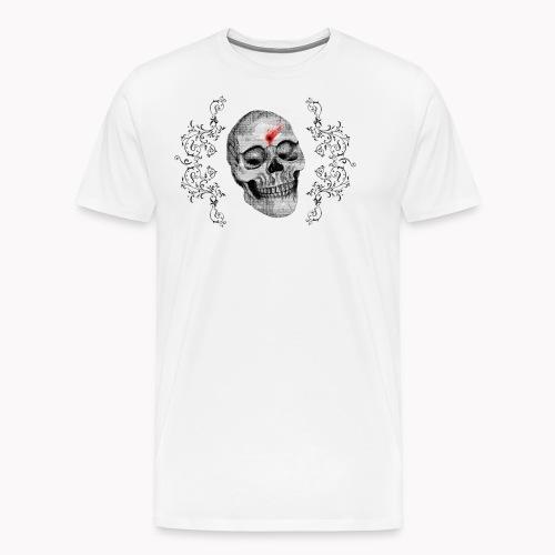Skull One Bullet - T-shirt Premium Homme