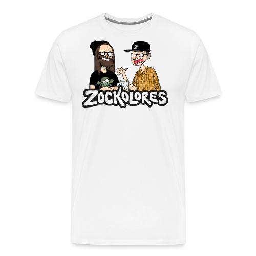 Comic-Logo Bambi & Robin - Männer Premium T-Shirt
